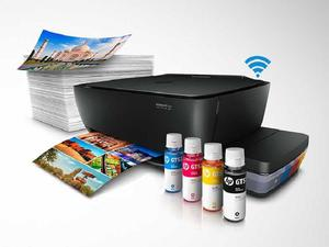 Impresora Multifuncional Hp Gt Wifi con SISTEMA continuo