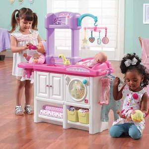 Juego De Cuidado Del Bebé Y Muñecas. Fabricado En Eeuu
