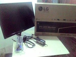 MONITOR LED IPS 20`` PERFECTO ESTADO CON CAJA