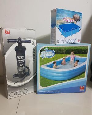 Pepelma para piscina pepelmas decorativas posot class for Piscina inflable rectangular