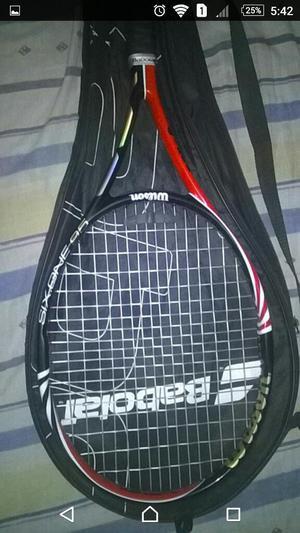 Raqueta de Tenis Babolat Wilson,six One.
