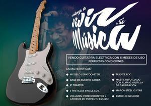 Vendo Guitarra Electrica Tipo Stratocaster