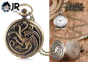 Game Of Thrones Targaryen Reloj De Bolsillo Jrstore En Lince