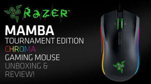 Mouse Gamer Razer Mamba Tournament Edition Láser 16K dpi 9