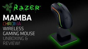 Mouse inalámbrico Gamer Razer Mamba  dpi 9 botones