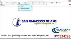 SISTEMA DE PRODUCCIÓN SAN FRANCISCO DE ASIS 690 SOLES