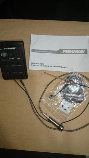 Sistema Fishman para Guitarra Acustica