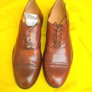 Zapatos De Cuero Zara Man Tallla 43