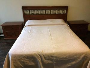 Juego de dormitorio komfort spazzio queen size posot class for Juego de dormitorio queen