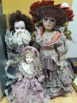 Muñecas De Porcelana, Antigüedades, Vintage.