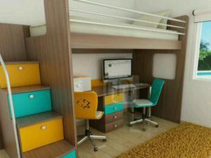 Camarotes ahorra espacio en melamina modelo posot class - Escaleras para camas nido ...