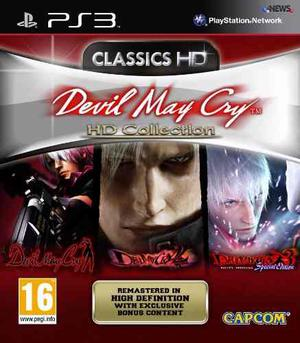 Devil May Cry Hd Collection - Juego Ps3 Digital