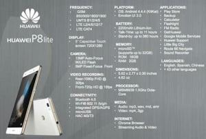 Huawei P8 Lite Nuevo en Caja Sellado