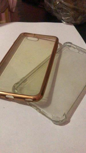 Micas de Vidrio Y Case para iPhone 6, 6s