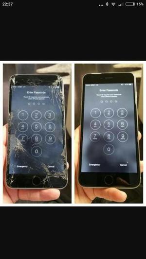 Pantalla iPhone 6 Plus Negra nueva