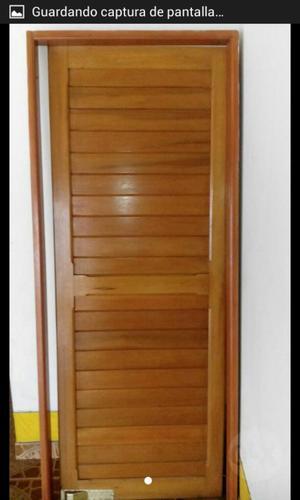 Puerta en madera posot class - Modelo de puertas de madera ...