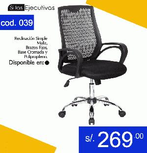 Reparacion de sillas de oficinas peru posot class for Sillas de oficina precios