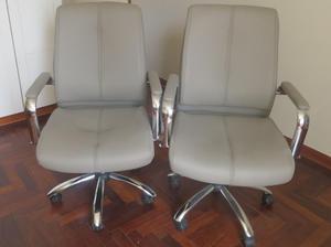 Venta de 4 sillas ergonomicas para masajes posot class for Sillones ejecutivos para oficina