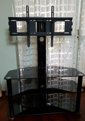 Vendo Mueble de Vidrio con Rack