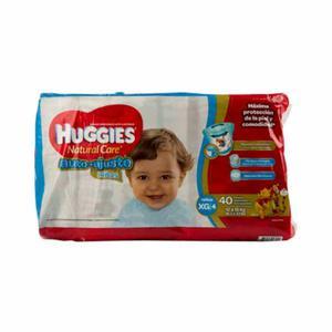 3 Paquetes de Pañales Huggies Niño Xg