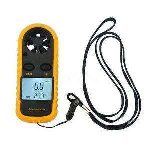 Anemómetro Termómetro Digital Medidor De Viento
