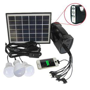 Kit Solar Linterna Portatil