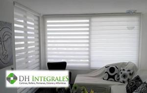 cortinas rollers persianas pvc horizt a domicilio