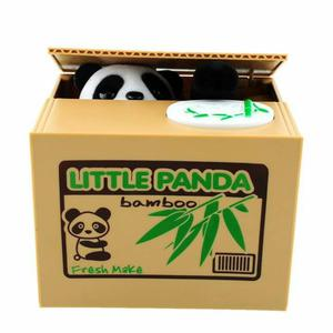 Vendo Alcancia de Osito Panda Roba Moned
