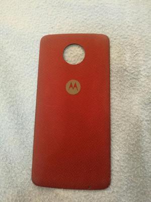 Moto Z Play Tapa Shell Roja