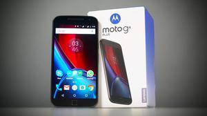 Motorola Moto G4 Plus 32gb Negro Tienda San Borja.