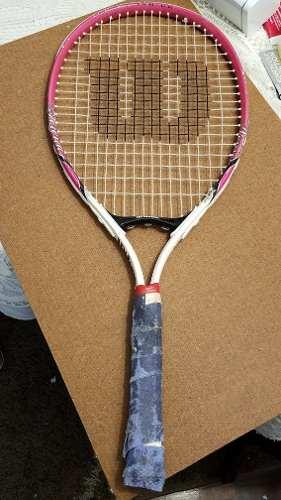 Raqueta Tenis Wilson Usada 25 Pulgadas.