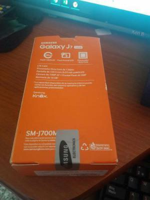 Samsung J7 Nuevo en Caja con Mica Y Fund