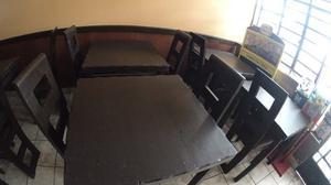 Vendo Mesas Y Sillas Para Restaurante