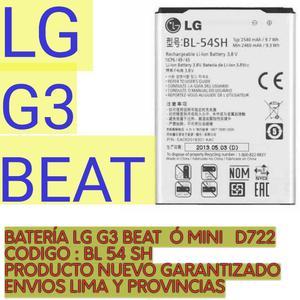 Bateria Lg G3 Beat