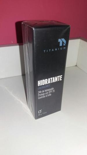 Crema Titanium Hidrante Hombre