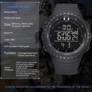 Reloj Digital Acuatico para Hombre