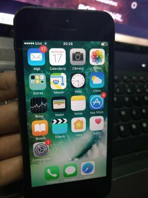 Se vende iphone 5 de 16GB libre para todo operador y icloud