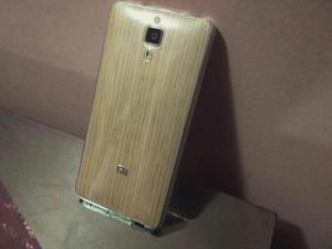 Xiaomi Mi4 con Tapa de Bambú Original