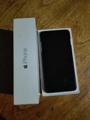 iPhone 6 plus de 64 gb space gray, S/.