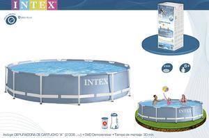 Vendo piscina redonda armable grande mas filtro posot class for Piscina redonda grande