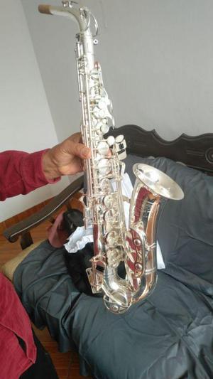 Saxofón selmer Bundy plateado USA / Villanueva