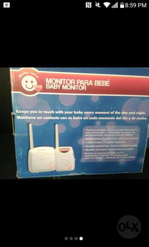 Vendo Monitor para Bebe