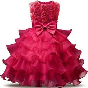 Vestido de Niña Talla 6 Y Talla 8.