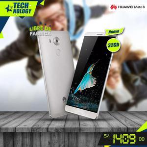 Huawei Mate 8 32Gb Nuevo Desbloqueado IMEI Original Caja