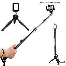 Monopod Selfie Stick Yunteng Control Tripode