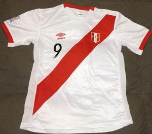 Camiseta Peru Eliminatorias Rusia