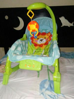 Bouncer silla mecedora relajante con posot class for Silla mecedora para bebe