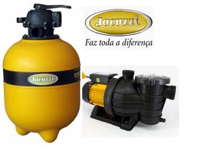 Electrobomba Piscina 1 HP y Filtro 22 Marca Jacuzzi