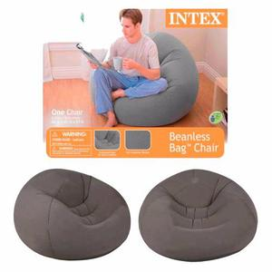 Sillon Puff Inflable Intex