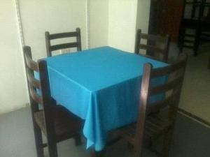 se vende mesas y sillas restaurante